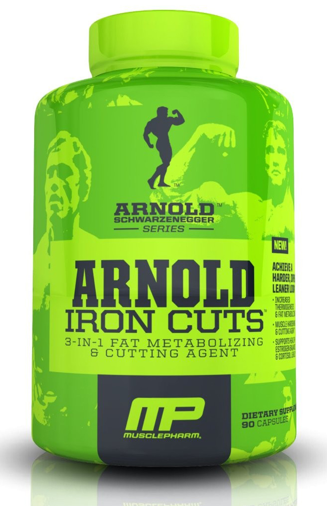 Iron Cuts Arnold Series (120 caps)