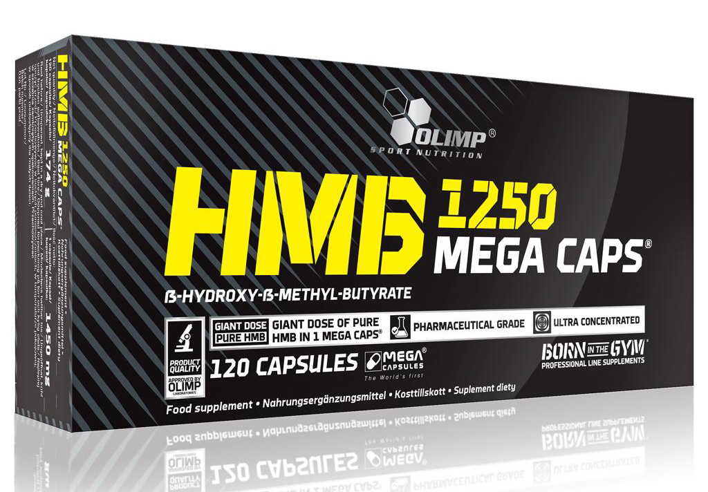 HMB MEGA CAPS Olimp (120 кап, 1 кап = 1250 мг)