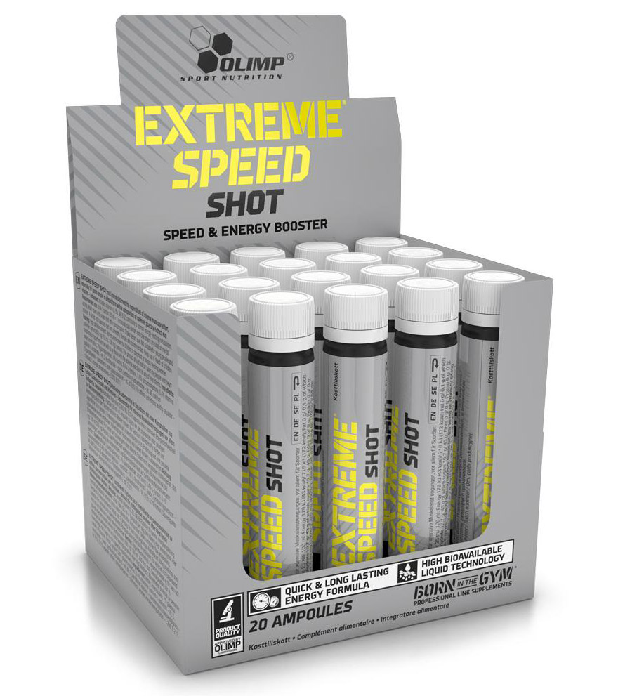 Extreme Speed Shot (20 amp x 25 ml, 1 amp=3075 mg)