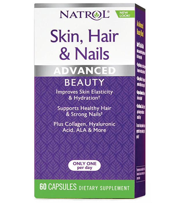 Skin Hair Nails Natrol (60 кап)