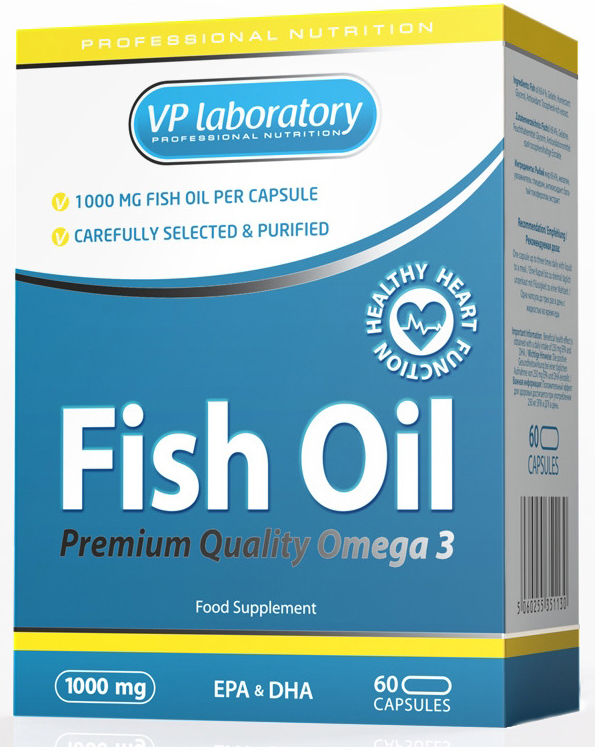 Fish Oil VP Laboratory (60 кап)
