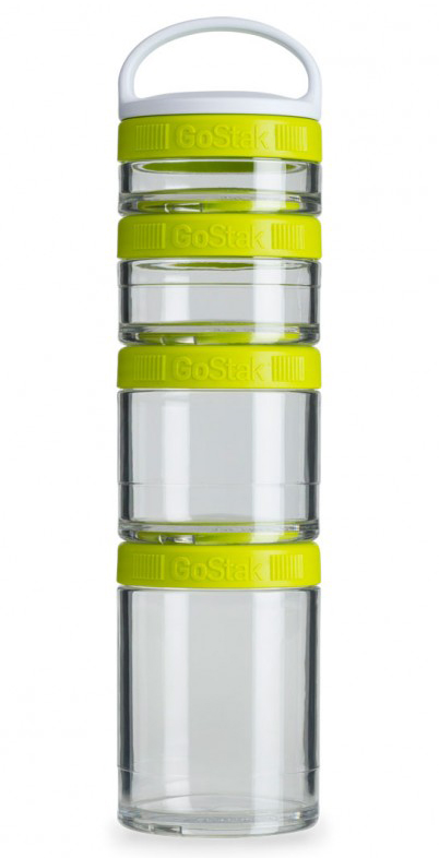 GoStak Starter BlenderBottle (4 box, 40, 60, 100, 150 ml)