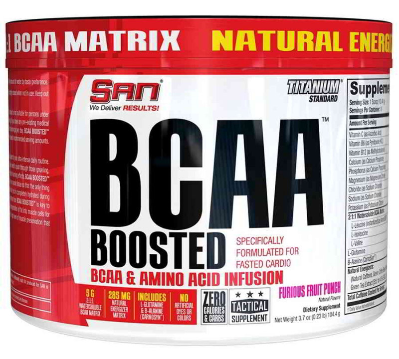 BCAA Boosted SAN (104.4 гр)