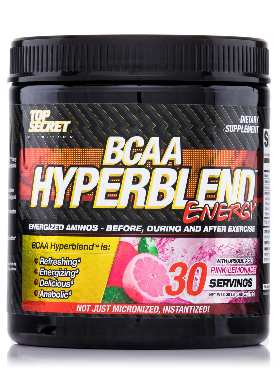 BCAA Hyperblend Energy Top Secret Nutrition (168 гр)