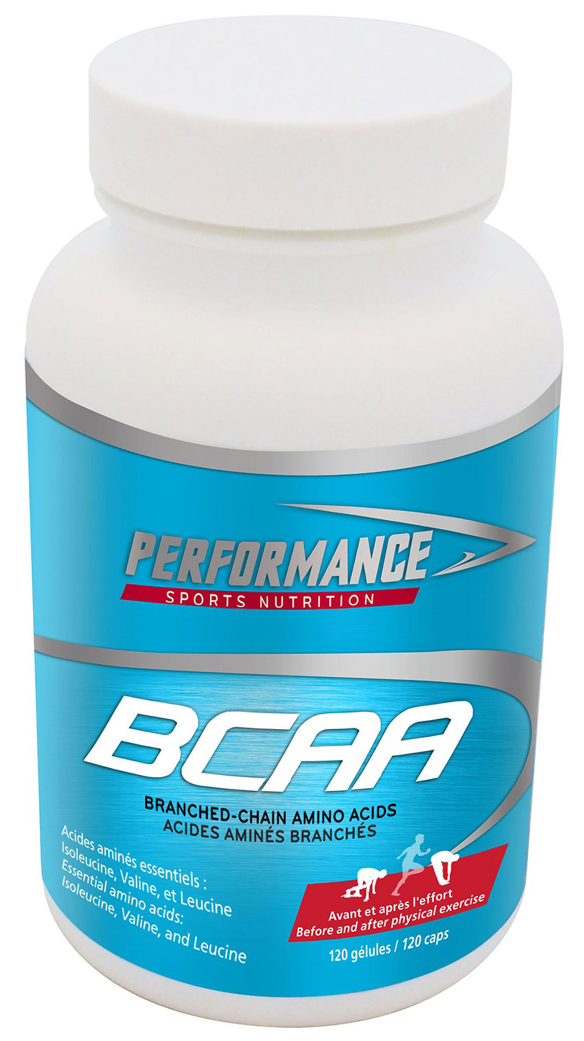 BCAA Performance (120 кап)(годен до 03/2019)