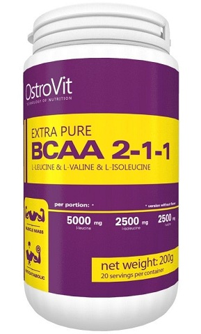 Extra Pure BCAA 2:1:1 OstroVit (200 gr)