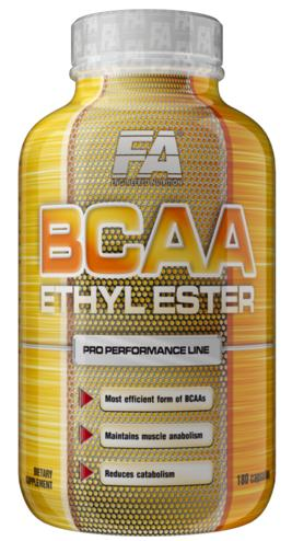 BCAA Ethyl Ester Fitness Authority (180 cap)