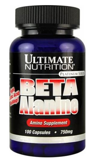 Beta Alanine Ultimate Nutrition (100 кап)