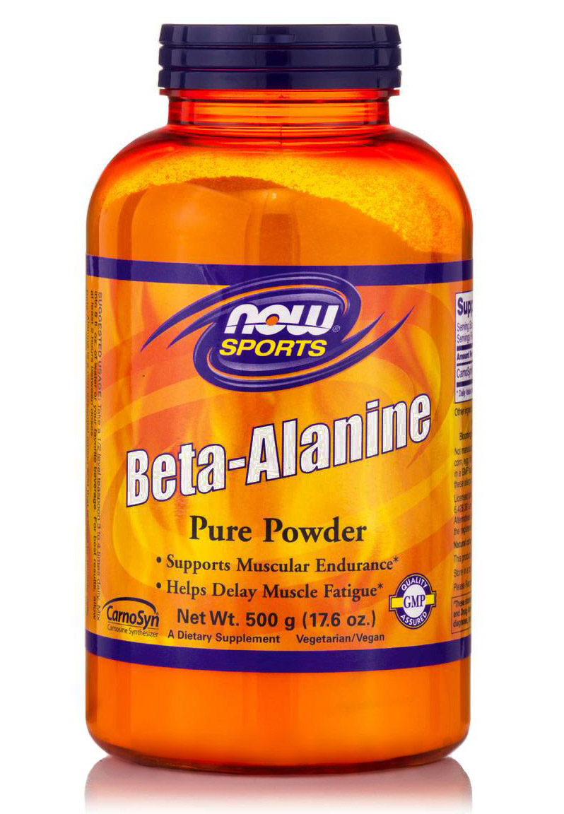 Beta-Alanine 17.6 oz NOW (500 гр)
