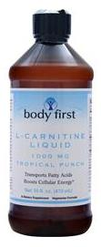 L-Carnitine Liquid 1000 mg Body First (473 мл)(годен до 07/2016)