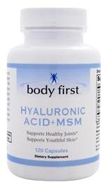Hyaluronic Acid + MSM Body First (120 кап)