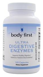 Ultra Digestive Enzymes Body First (120 caps)(EXP 07/2017)
