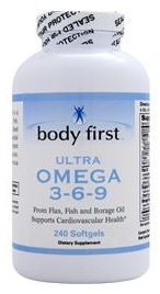 Ultra Omega 3-6-9 Body First (240 softgels)