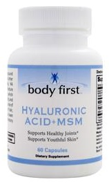 Hyaluronic Acid + MSM Body First (60 кап)