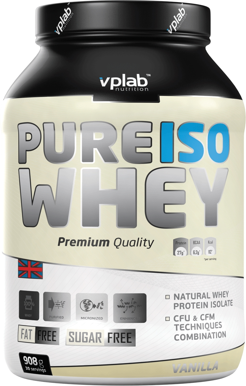 Pure Iso Whey VPLab Nutrition (908 гр)