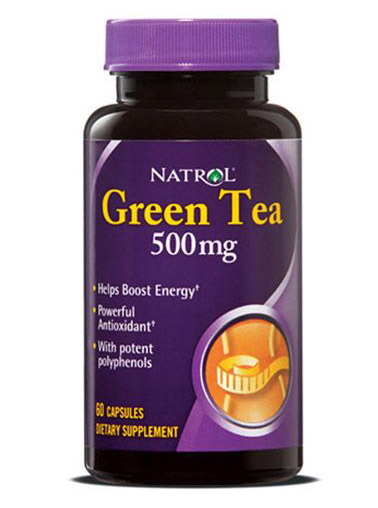 Green Tea 500 mg Natrol (60 кап)