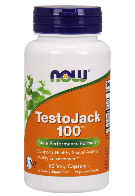 TestoJack 200 NOW (60 вегетарианских капсул)