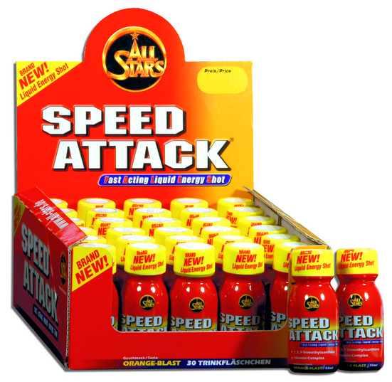 Speed Attack All Stars (30 x 50 мл)