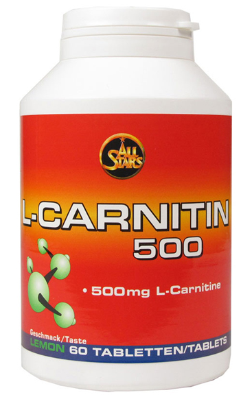 L-carnitin 500 All Stars (60 tab)