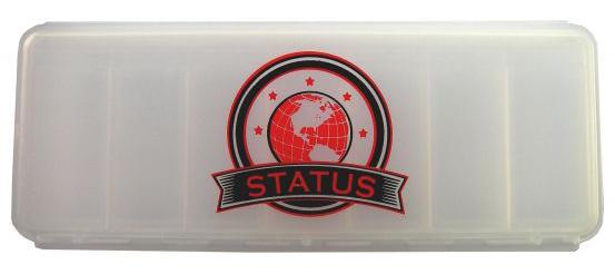 Кейс для капсул STATUS белый (16,5 см х 6,5 см х 3 см)