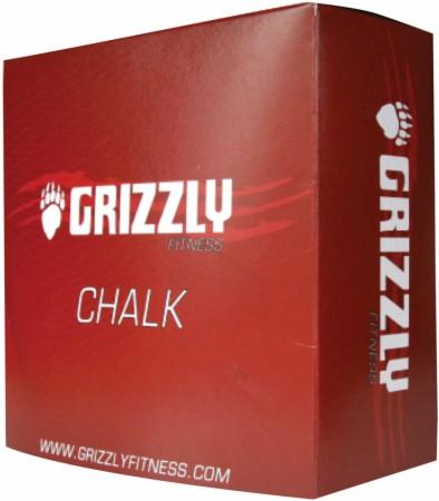 Магнезия GymChalk Grizzly (коробка 8 кубиков, 620 гр)