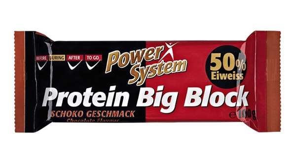 50% Protein Big Block Power System (100 gr)(EXP 05/2019)