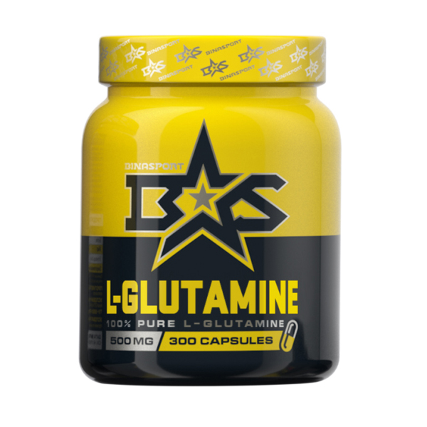 L-Glutamine Caps Binasport (300 кап)