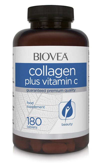 Collagen Plus Vitamin C Biovea (180 таб)