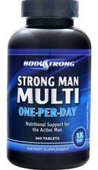 Strong Man Multi – One-Per-Day BodyStrong (360 таб)