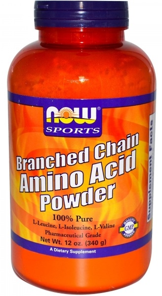 Branched Chain Amino Acid Powder 12 oz NOW (340 гр)
