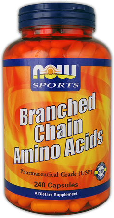 Branched Chain Amino Acids NOW (240 кап)
