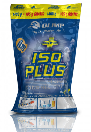 ISO PLUS POWDER + L-CARNITINE Olimp (1505 gr)