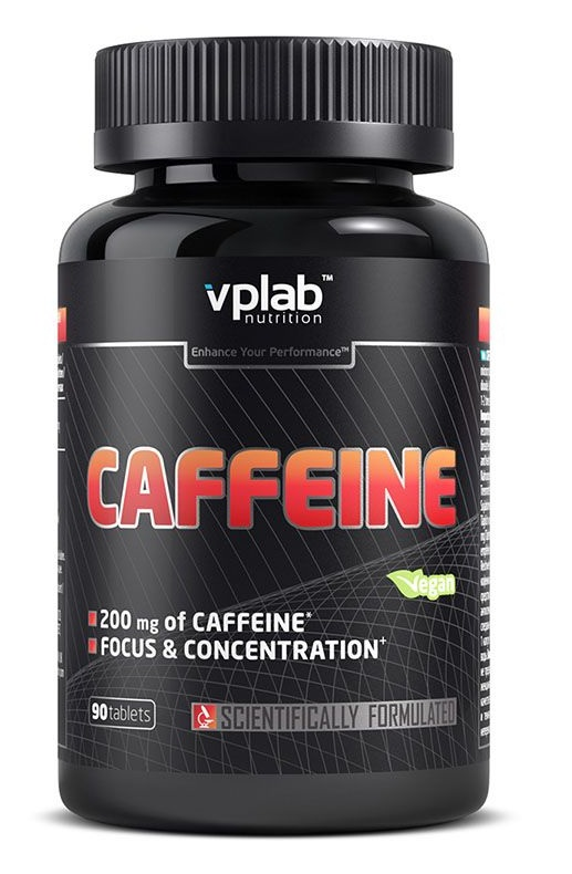 Caffeine 200 mg VPLab Nutrition (90 таб)