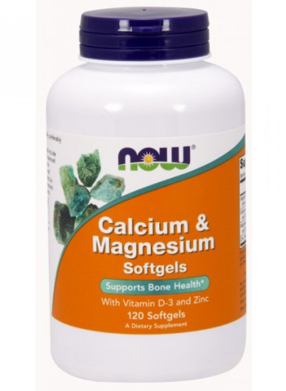 Calcium & Magnesium NOW (120 softgel)