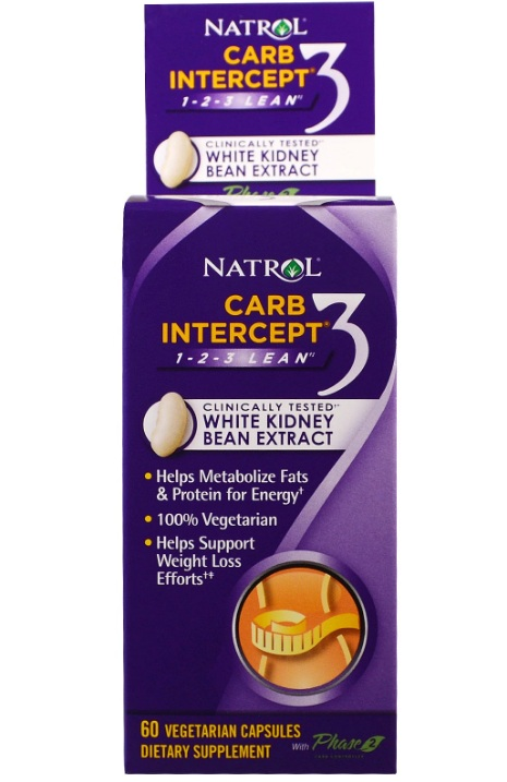 Carb Intercept 3 with Phase 2 Natrol (60 cap)