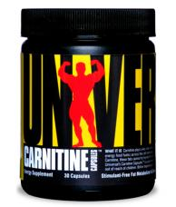 Carnitine Capsules Universal Nutrition (30 кап)