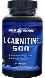 L-Carnitine 500 mg BodyStrong (90 таб)(годен до 02/2017)