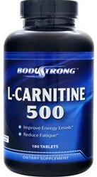L-Carnitine 500 mg BodyStrong (180 таб)