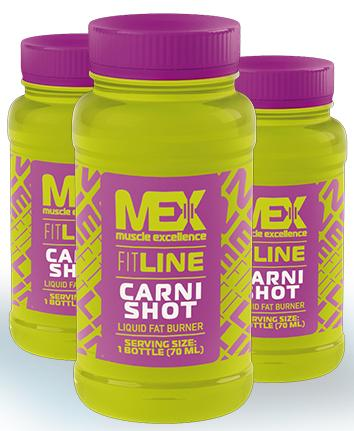 Carni-Shot MEX Nutrition (20 шт x 70 мл)