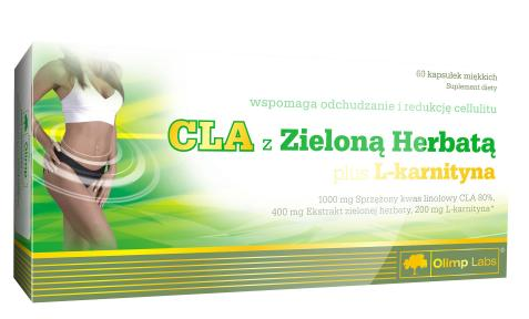 CLA With Green Tea Plus L-Carnitine OLIMP (60 cap)