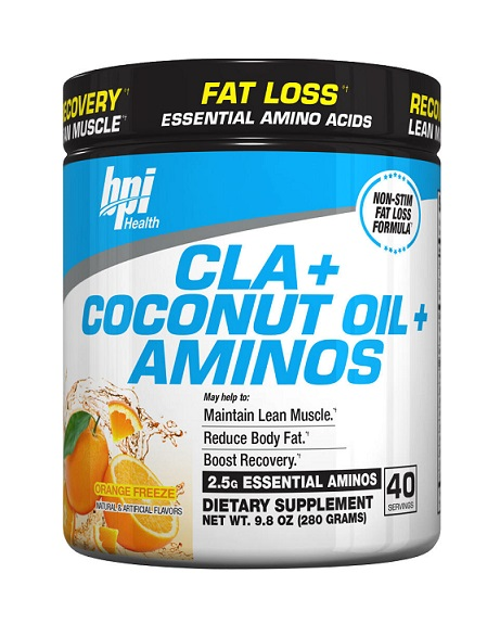 CLA + Coconut Oil + Aminos BPI Sports (280 gr)