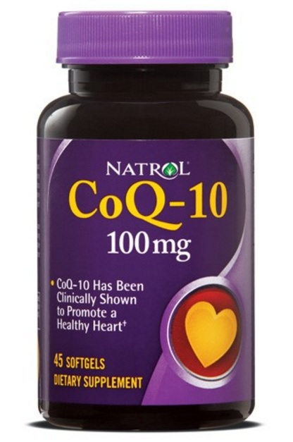 CoQ-10 100 mg Natrol (45 softgels)(EXP 30/09/2019)