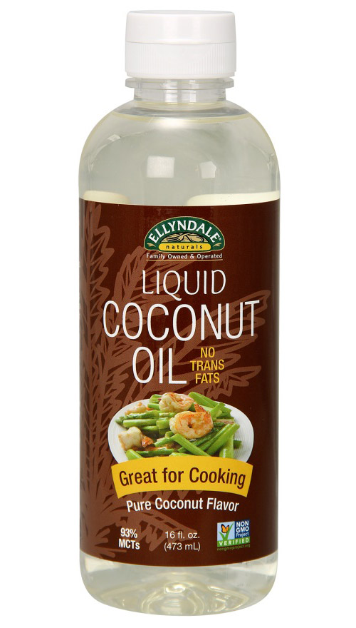 Liquid Coconut Cooking Oil NOW (473 мл)