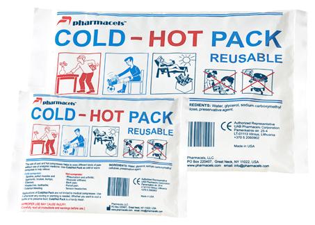 Reusable Cold-Hot Pack-согревающий/охлаждающий пакет Pharmacels