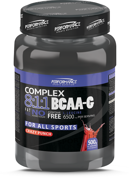 BCAA-G 8:1:1 Performance (500 гр)