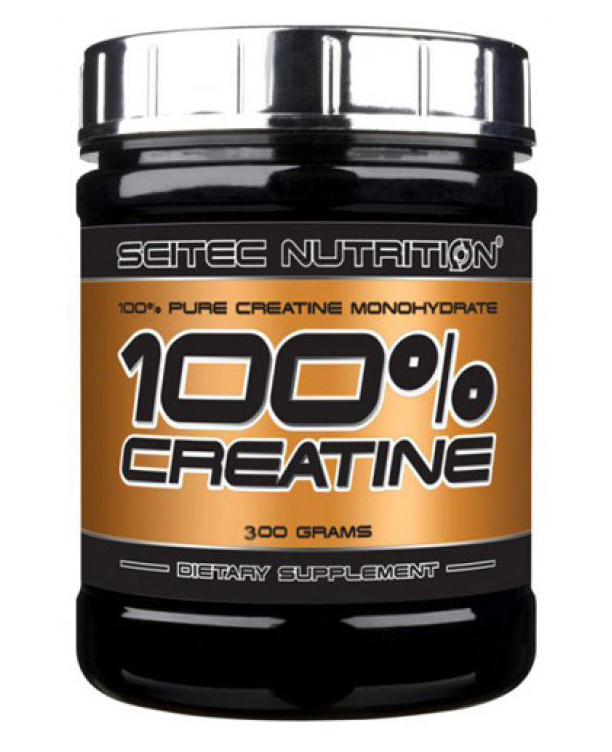100% CREATINE SCITEC NUTRITION (300 гр)