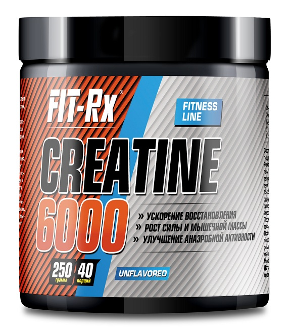 Creatine 6000 FIT-Rx (250 gr)