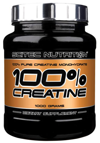 100% CREATINE SCITEC NUTRITION (1000 гр)
