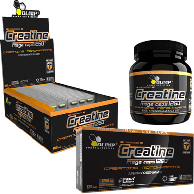 Creatine Mega Caps Olimp (30 cap)