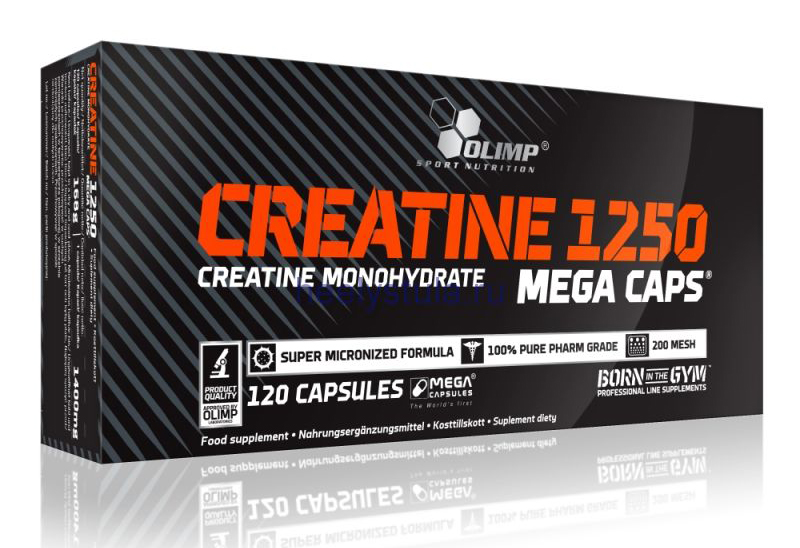 Creatine Mega Caps Olimp (120 кап)